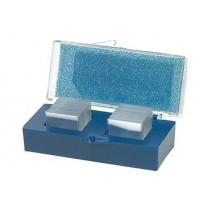 Cubierta de vidrio, 18 mm cuadrados (Pk/160)