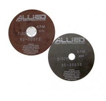 """Disco Abrasivo Al2O3, 9"""" X .032"""" X 1.25""""/32 mm (Pk/10) (Hule)"""