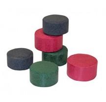 "Baquelita, Rojo, 1 1/4"", en tubos (Pk/500)"